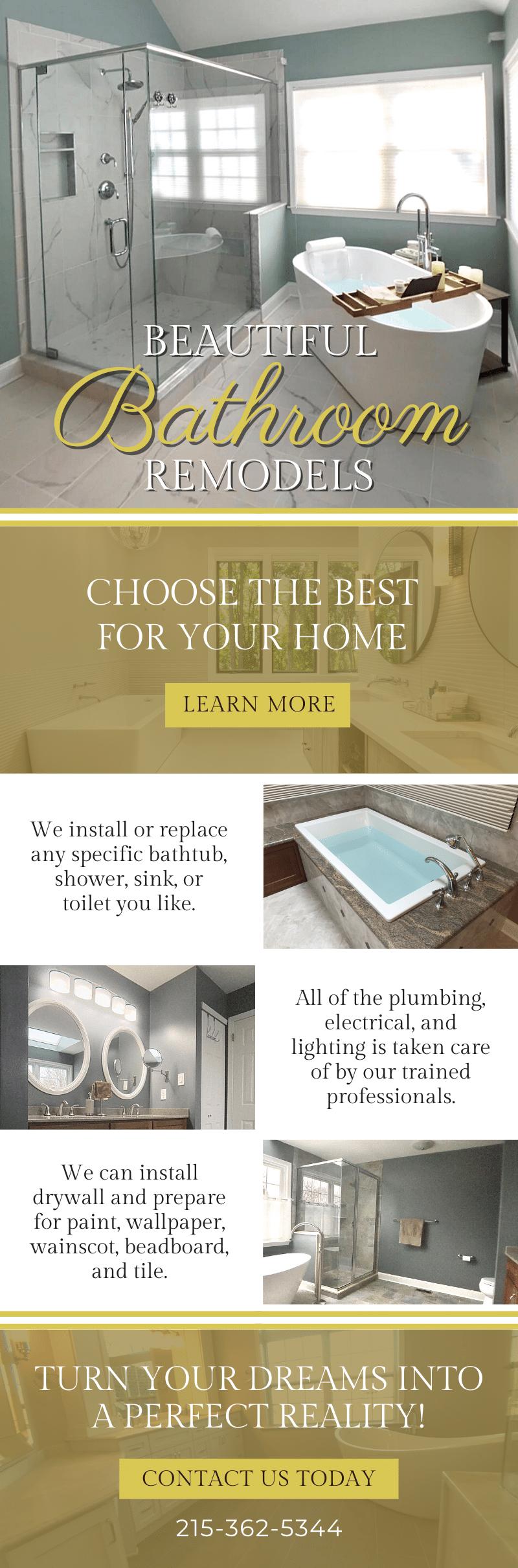 Beautiful Bathroom Remodels! 3