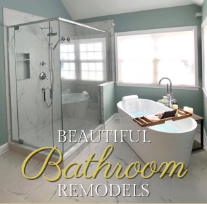 Read more about the article Beautiful Bathroom Remodels!