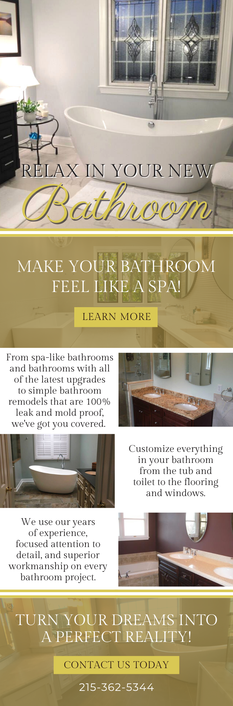 Relax In Your New Bathroom! 3