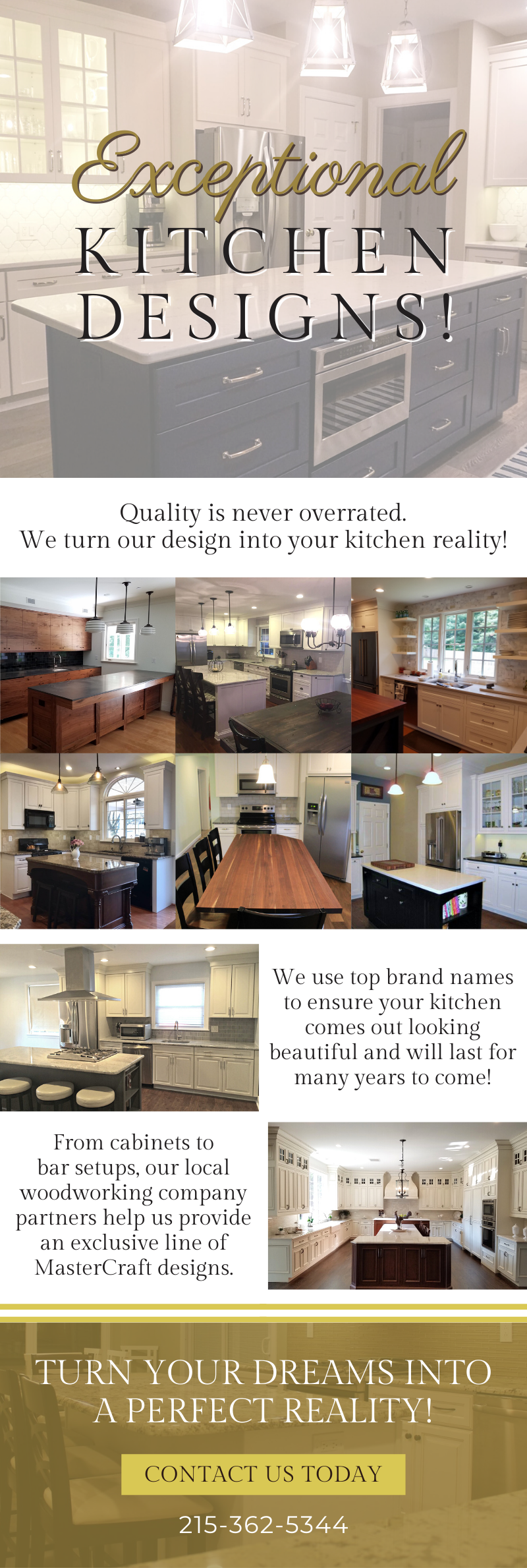 Exceptional Quality Kitchens! 3